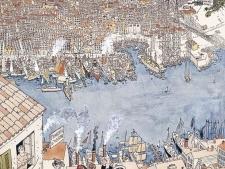 Vue de Marseille - Le haut du Panier