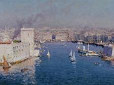 Vue sur le Vieux Port de Marseille depuis le Pharo