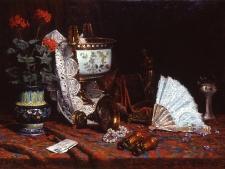 olive-j-b-vases-en-faience-et-porcelaine-bijoux-et-accessoires-sur-un-tapis-dorient