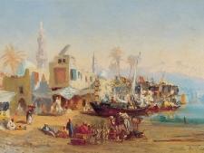 crapelet-a-pecheurs-et-mosquee-a-boulaq-bd
