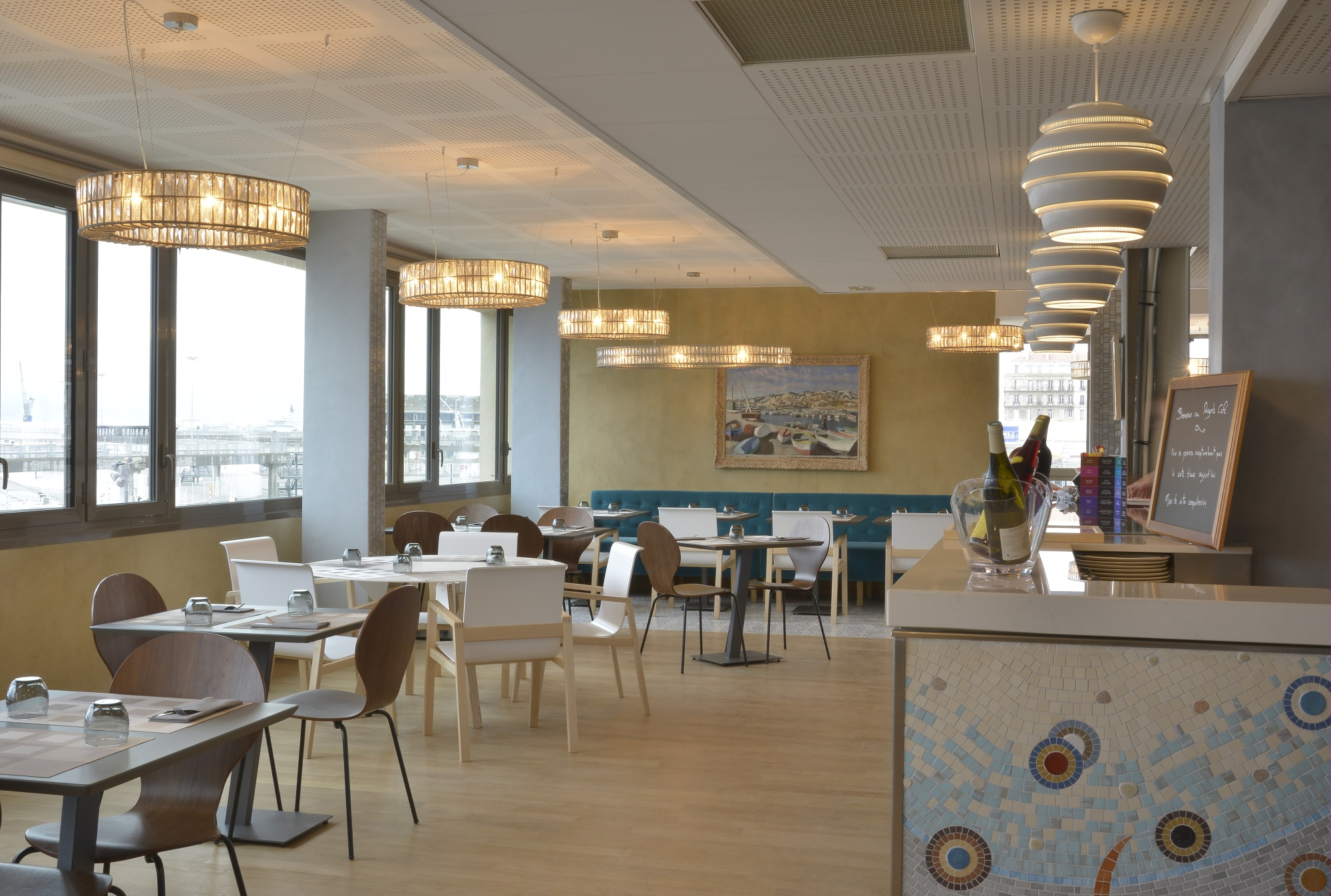 La Mer Vue Du Regards Cafe Mus 233 E Regards De Provence