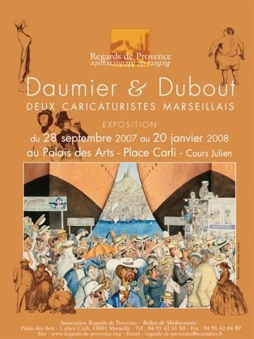 Affiche Daumier Dubout presse
