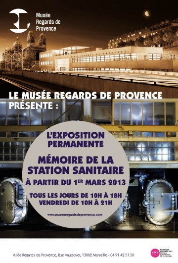 Affiche expo permanente memoire station