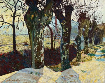Lombard; Platane en hiver a Auriol, 1906