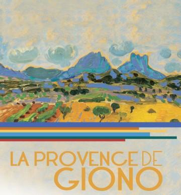 Affiche La Provence de Giono Titre SITE